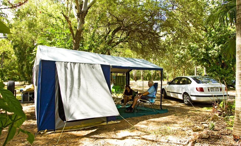 Camping sites for Cabins 1770