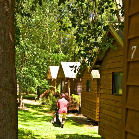 garden cabin accommodation queensland