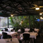 caravan park facilities and restaurant